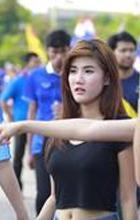 เก็บตกภาพเหล่าสาวสวย นัดไทย-เวียดนาม