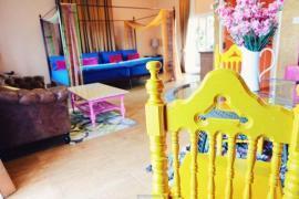 """""""บ้านนมแมว รีทรีท"""" สวรรค์สีสันแห่งกาญจนบุรี"""