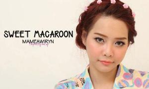 mameawiryn : sweet macaroon หวานใสสไตล์เด็กดื้อ