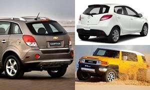 10 อันดับยอดขายรถยนต์ 'ตกฮวบ' ที่สุดปี 2015