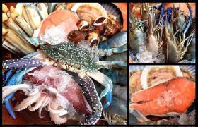 """""""The Harbour Seafood"""" ปิ้งย่าง ชิคๆ ย่านเอกมัย"""
