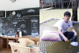 นอนเปล จิบกาแฟ กินขนมหวาน ริมแม่น้ำเจ้าพระยา ที่ on The River Café