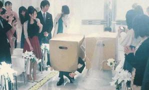 พิธีแต่งงานสุดแปลก ในโฆษณาเกม Metal Gear Solid V