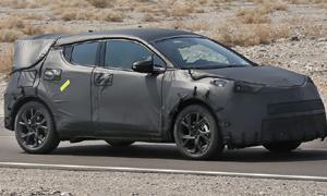 หลุด 'Toyota C-HR' โฉมขายจริง! คู่แข่ง 'Honda HR-V'