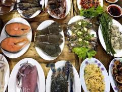 ปักหมุด Seafood Buffet ไม่จำกัดเวลา..แบบเต็มโต๊ะ!!