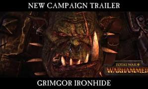 Total War: Warhammer ตัวอย่างเนื้อเรื่องฝ่าย Grimgor Ironhide