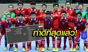 ต้านไม่ไหว! ฟุตซอลคนหูหนวกไทยชวดแชมป์โลกแพ้อิหร่าน 3-8