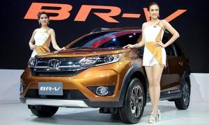 ภาพจริง Honda BR-V ใหม่ ส่งตรงจากงานมอเตอร์เอ็กซ์โป 2015