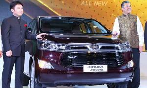 Toyota Innova Crysta ใหม่ ถูกเปิดตัวอย่างเป็นทางการแล้วที่อินเดีย