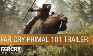Far Cry Primal 101 ตัวอย่างเกมเพลย์สัตว์ร้ายในยุคหิน