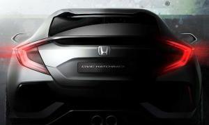 ภาพแรก 2016 Honda Civic Hatchback ก่อนเปิดตัวจริงมีนาคมนี้