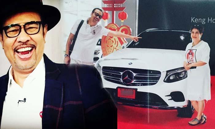 โน้ต เชิญยิ้ม ควักเงินก้อนโตซื้อรถหรูให้ภรรยาสุดที่รัก
