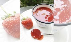 ต้อนรับวาเลนไทน์ ด้วยซอสสตรอว์เบอร์รี่แสนอร่อย ทำเองได้ง่ายๆ