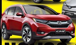 2017 Honda CR-V โมเดลเชนจ์ใหม่ ปรับดีไซน์เฉียบคมยิ่งขึ้น