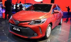 สวยเว่อร์! 2017 Toyota Vios ไมเนอร์เชนจ์ใหม่ เผยโฉมแล้วที่จีน