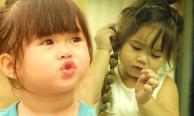 น้องนามรูป ลูกสาวไก่ มีสุข หน้าตาน่ารักแต่เด็ก