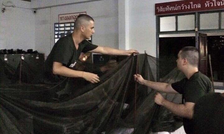 แอบส่องชีวิตพลทหาร ชิน ชินวุฒ เข้ากรมทหารรับใช้ชาติ