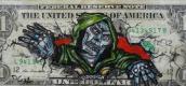 ค่าเงินดอลลาร์ถูกเปลี่ยนเป็นงานศิลปะชิ้นเอก