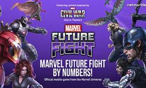 ฉลองผู้เล่น 40 ล้านคนครบรอบ 1 ปีเกม MARVEL Future Fight ด้วยภาพอินโฟกราฟิก