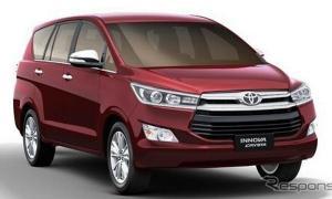 Toyota Innova Crysta  เปิดตัวแล้วที่อินเดีย เริ่ม 7.3 แสน