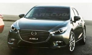 หลุด 2017 Mazda3 ไมเนอร์เชนจ์ ปรับไฟหน้าสดใหม่ยิ่งขึ้น