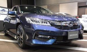 เจ๋ง! Honda Accord Hybrid ไมเนอร์เชนจ์ใหม่ไม่ใช้ 'คันเกียร์' แล้ว
