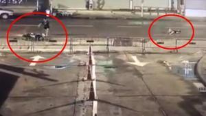 คลิปมอเตอร์ไซค์ชนจักรยานแล้วหนีทิ้งเจ็บกลางถนน สุดท้ายเสียชีวิต
