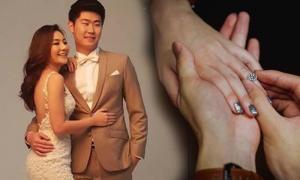 โรแมนติก เอ็ม ลูกหม่ำ เผยภาพแหวนเพชรในวันถูกขอแต่งงาน