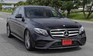 รีวิว Mercedes-Benz E220d AMG ใหม่ สปอร์ตไม่ทิ้งหรู
