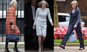 """ยิ่งแก่ยิ่งแซ่บ """"เทเรซา เมย์"""" นายกของอังกฤษ ฉายาแฟชั่นนิสต้าแห่งรัฐสภา"""