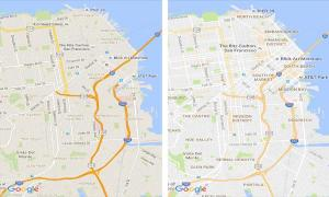 Google Maps ปรับโฉมใหม่ แสดงผลง่ายขึ้นแยกแยะสถานที่ด้วยสี