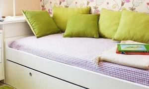 ไอเดียทำง่าย ห้องนอนขนาดเล็ก 3.8 x 2.5 เมตร แต่งจนสวย