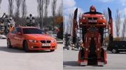 อย่างเจ๋ง! BMW แปลงร่างเป็นหุ่นยนต์ Transformers