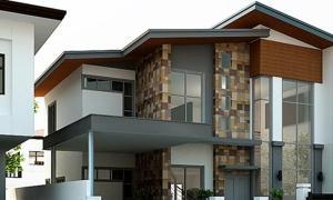 ตัวอย่างบ้าน 2 ชั้นออกแบบ ตกแต่งอย่างประณีต
