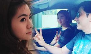 โมเม้นต์น่ารัก น้องมายด์ ลูกสาว แซม เป็นสารถีขับรถให้พ่อ