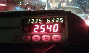 แท็กซี่โกงมิเตอร์ เรียกค่าโดยสารชาวจีน 2,540 บาท