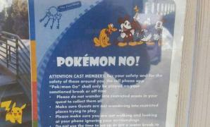 ดิสนี่ย์แลนด์ไม่ปลื้ม Pokemon GO พนักงานแอบอู้เล่นกันเยอะ