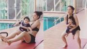 น้องดีแลน แฮปปี้ออกกำลังกายกับแม่ลิเดีย