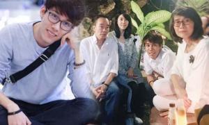 ภาพครอบครัว เชียร์ ฑิฆัมพร น้องชายคนเล็ก ชู๊ต หล่อนะเนี่ย
