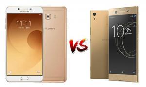 เทียบ Galaxy C9 Pro และ Sony Xperia XA1 Ultra สองสมาร์ทโฟนจอไซส์ยักษ์ขนาด 6.0 นิ้ว