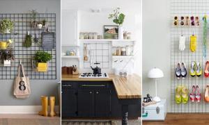 10 ไอเดียแต่งบ้านด้วยตะแกรงเหล็ก ประหยัด หาซื้อง่าย บ้านสวยคุ้ม