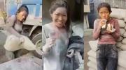 แห่ให้กำลังใจ สาวจีนโพสต์คลิปแบกปูน ทำงานหนัก หลังถูกวิจารณ์ว่า สร้างกระแสหาเงิน