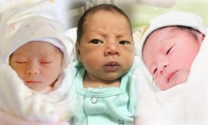 10 ลูกดาราเกิดปี 2560 น่ารัก น่าชัง ตั้งแต่แรกคลอด