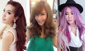 สีผมสวยแซ่บของเหล่าดารา สีไหนใช่ที่สุด