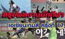 สรุปผลงานนักกีฬาไทย เมื่อวานนี้!!