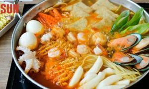 อร่อยระดับแชมป์เกาหลี ต๊อกบกกี เรดซัน
