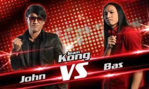 The Voice Thailand - จอห์น VS บาส - ม้าเหล็ก