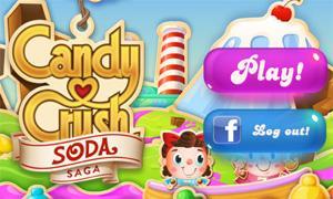 Candy Crush Soda Saga เกมทลายลูกอมภาคต่อ