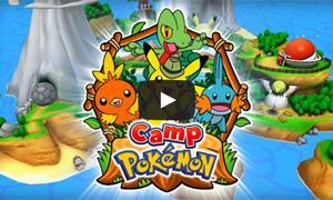 Camp Pokémon เกมโปเกมอนโหลดฟรี ใน iOS