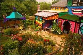 น่ารักอ่ะ..บ้านเก่าถูกทำใหม่ สีสันสุดคัลเลอร์ฟูล